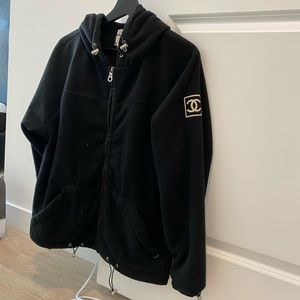 Chanel vintage fleece jacket